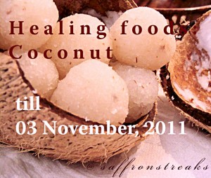 coconut ladoo healing food