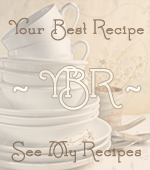 Your Best Recipes Button