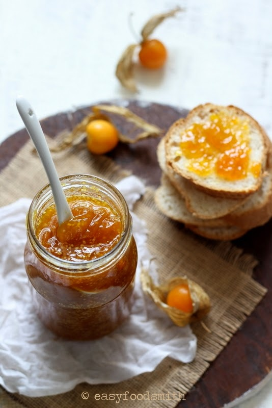 How to cook jam from the physalis
